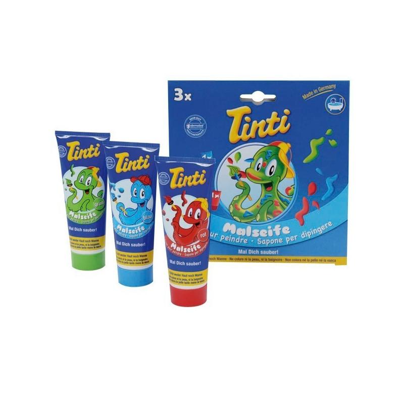 Tinti savon pour peindre 3 tubes Coffret 3 tubes de 70 ml