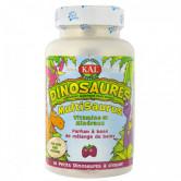 Dinosaures multivitamines & minéraux 60 petits Dinosaures à croquer