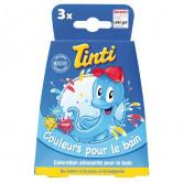 Tinti couleurs pour le bain 3 sachets Coffret 3 sachets de 4