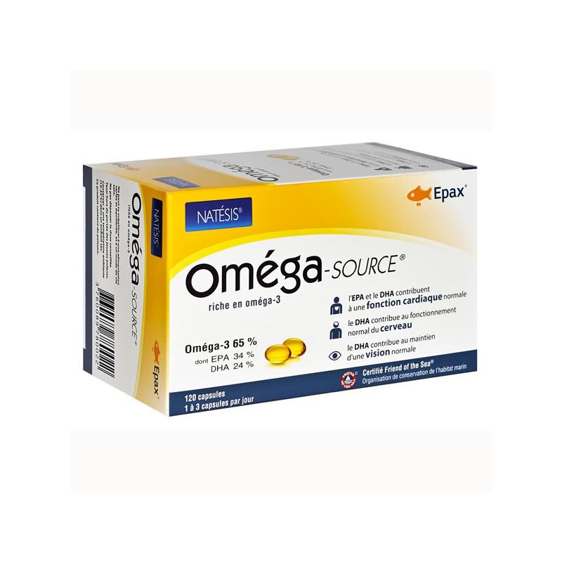 Omega Source Natésis 120 gélules 120 capsules