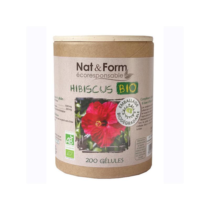 Hibiscus Bio 200 gélules Nat & Form 200 gélules