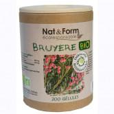 Bruyère Bio 200 gélules Nat & Form 200 gélules