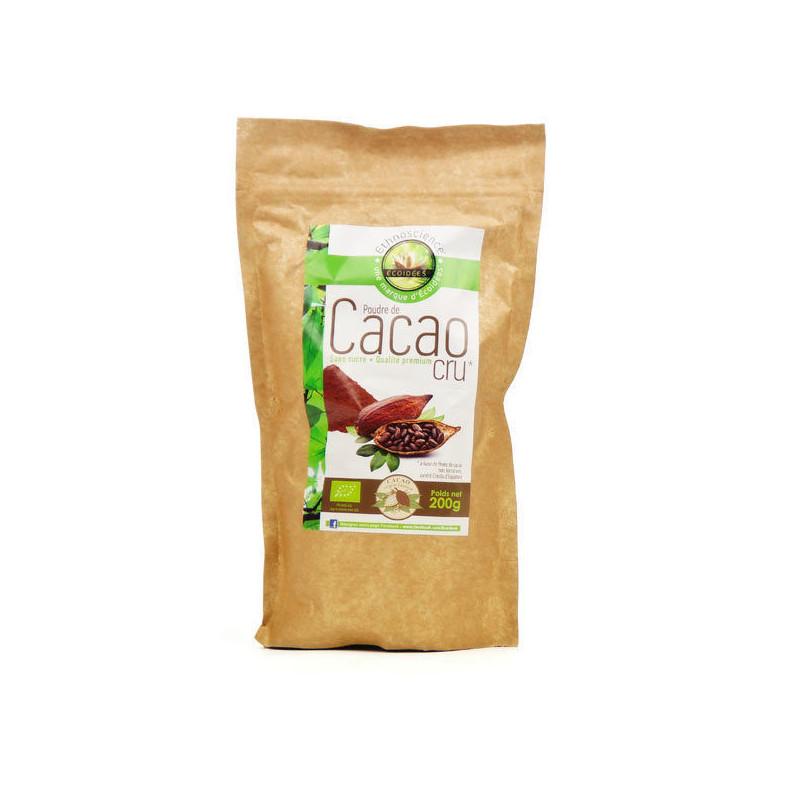 Poudre de cacao cru bio 200 gr 200 gr