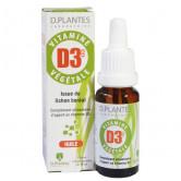 Vitamine D3++ Végétale D.Plantes 400 UI Flacon gouttes 20 ml Soit 450 gouttes