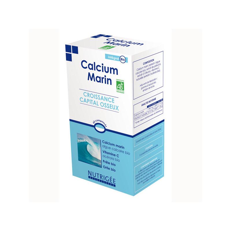 Calcium Marin Bio Nutrigée 60 comprimés 60 comprimés