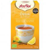 Yogi Tea Detox citron Bio 17 infusions 17 infusions