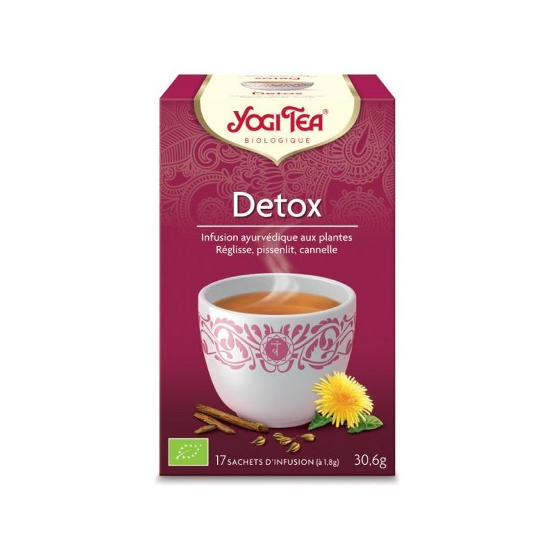 Yogi Tea Detox Purifica Bio 17 infusions 17 infusions
