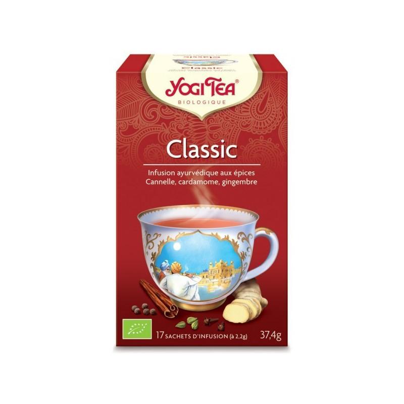Yogi Tea Classic Bio 17 infusions 17 infusions