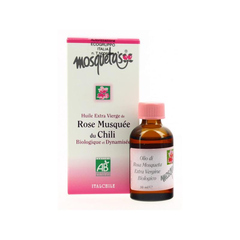 Huile Rose Musquée du Chili Mosqueta's 30 ml Flacon spray 30 ml