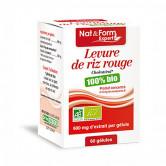 Levure de riz rouge Bio 60 gélules 60 gélules