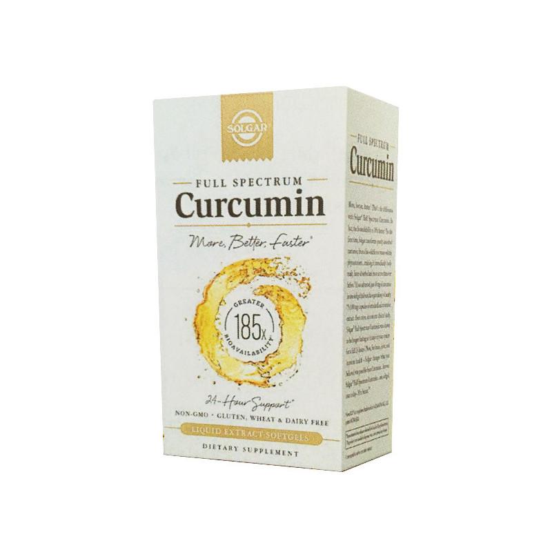 Curcumine Full Spectrum Solgar 30 gélules 30 Softgel