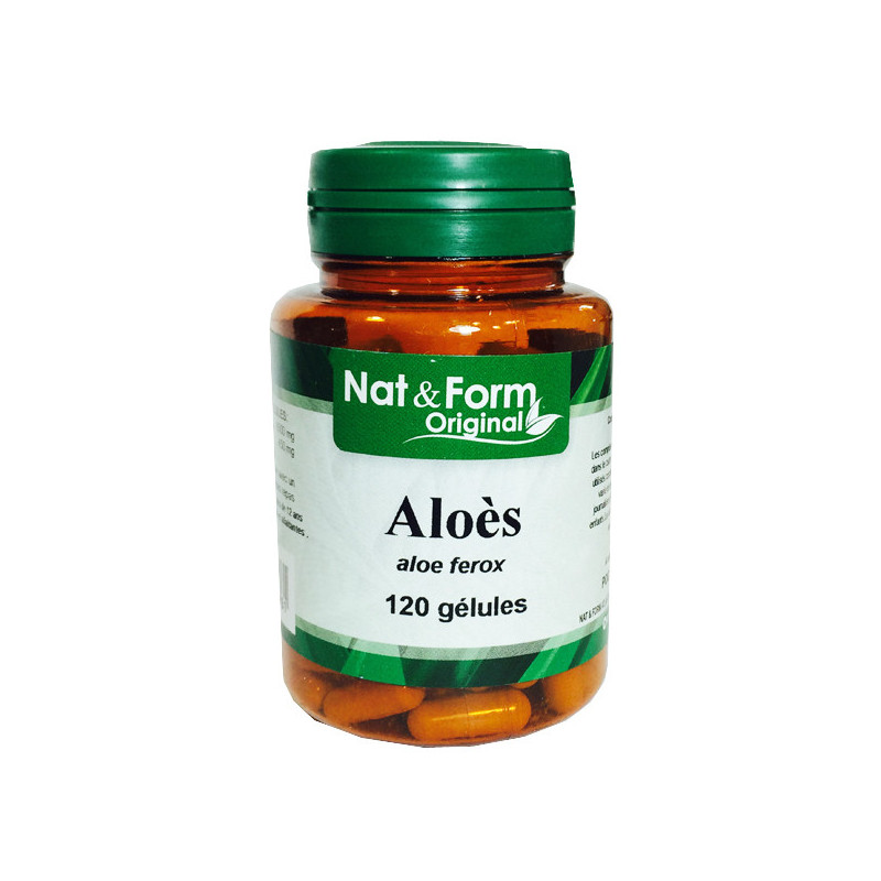 Aloe Ferox Noir 120 gélules Nat & Form 120 gélules