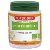 Levure de Bière Bio 100 gél Super Diet 100 gélules de 480 mg