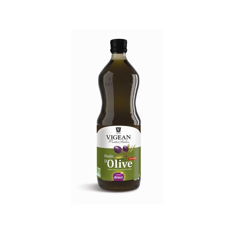 Huile d'Olive Bio Douce Espagne 1litre 1 litre