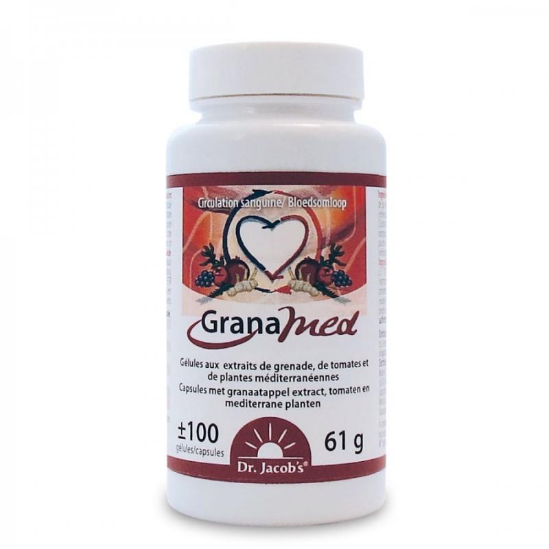 GranaMed 100 gélules circulation Dr Jacob's 1 boîte de 100 capsules