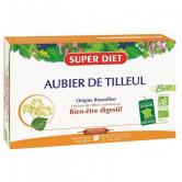 Aubier de tilleul Bio 20 ampoules Super Diet 20 ampoules de 15 ml