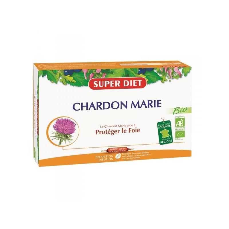 Chardon Marie Bio 20 ampoules Super Diet 20 ampoules de 15 ml