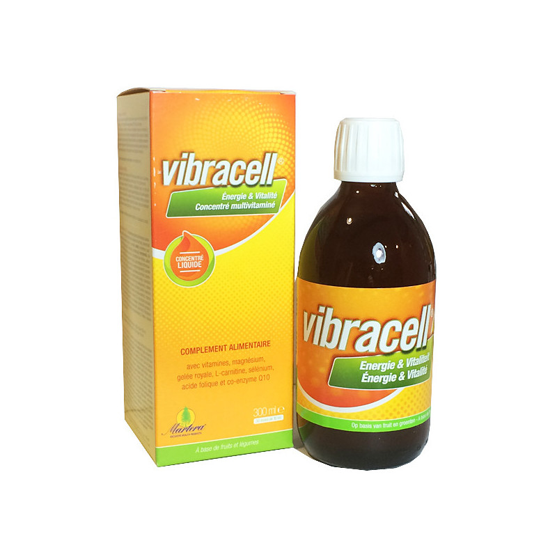 Vibracell - Multivitamines - 300 ml Flacon verre 300 ml