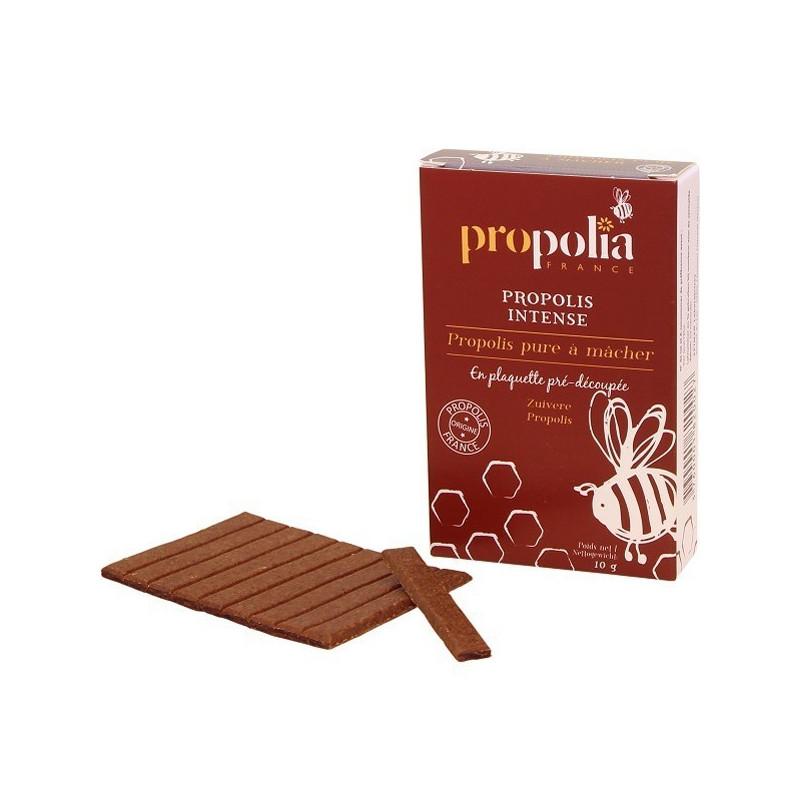 Propolia - Propolis intense pure à macher - 10 gr tablettes pré-découpées 10 gr