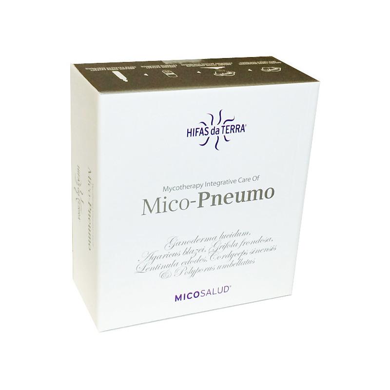 Mico-PNEUMO Hifas da Terra - 30 jours Coffret 30 fioles + 30 gélules (cure d'1 mois)