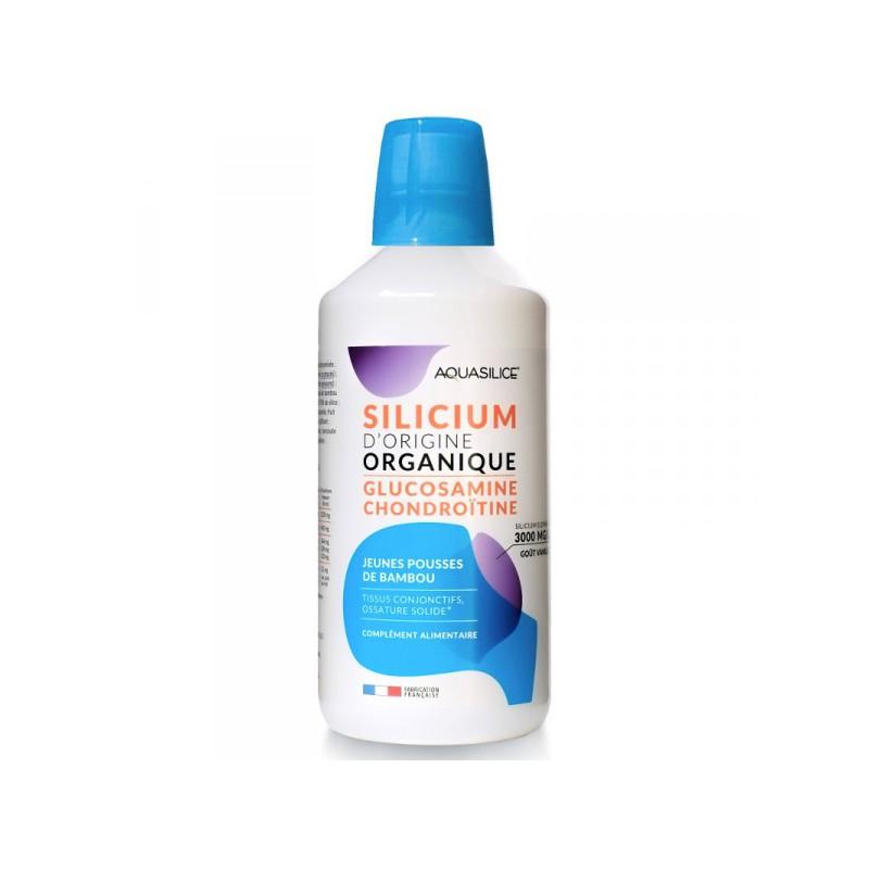 Aquasilice silicium Glucosamine & Chondroïtine 1L 1 bouteille 1L