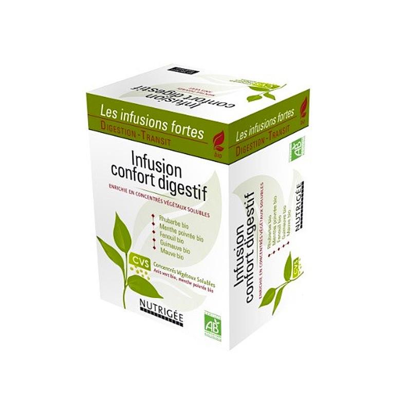Infusion Confort digestion - Nutrigée - 30 sachets 30 sachets