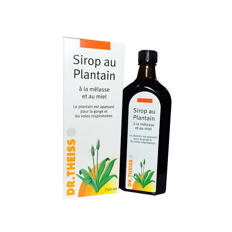 Sirop au Plantain Dr Theiss 250 ml 250 ml + flacon plantain nuit offert