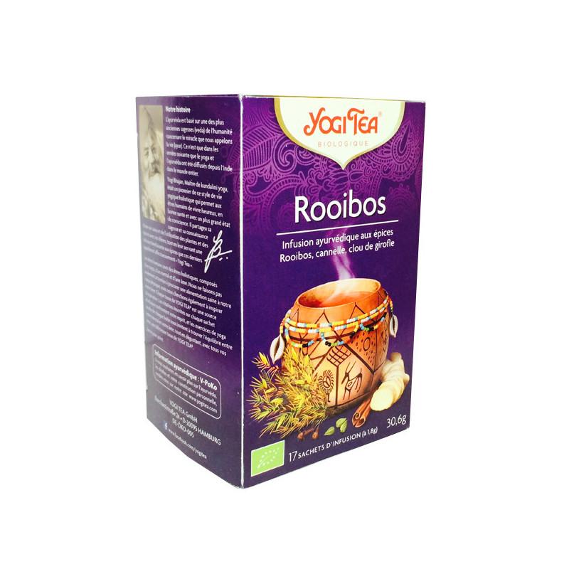 Yogi Tea Rooibos Bio 17 infusions 17 infusions à 1