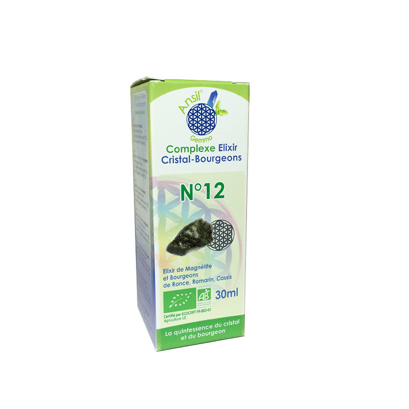 Complexe Elixir - Bourgeons N°12 Ansil Flacon 30 ml