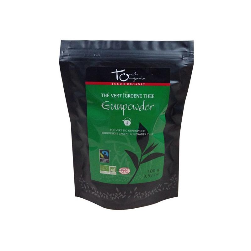 Thé Vert Bio GunPowder Touch Organic Sachet 100 gr