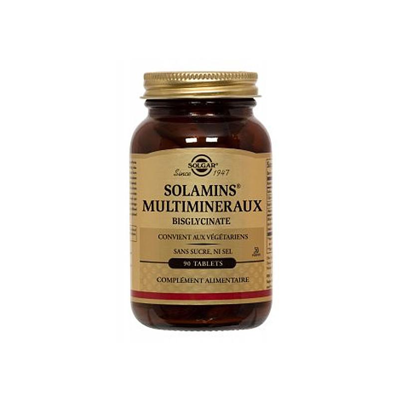 Solamins multi-minéraux 90 cp - Solgar 90 comprimés