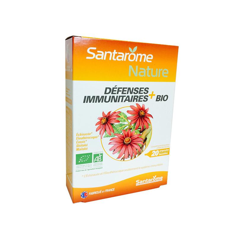 Défenses Immunitaires Bio Santarome 20 ampoules de 10 ml