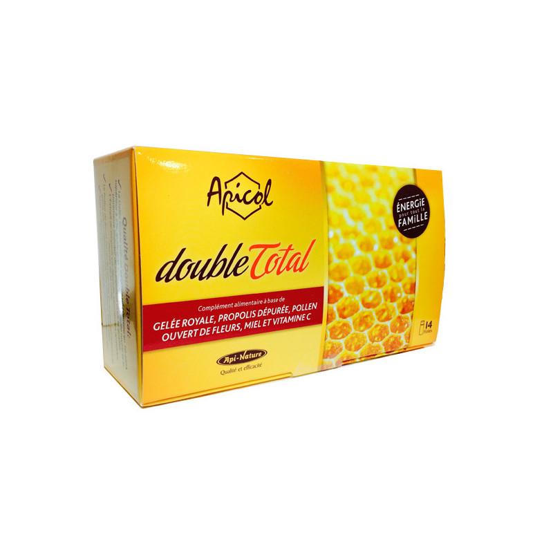 Apicol Double Total 14 fioles 14 fioles de 10 ml