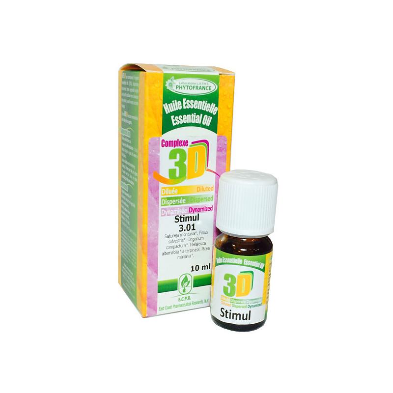 HE 3D - Stimul 10 ml - Phytofrance Flacon 10 ml