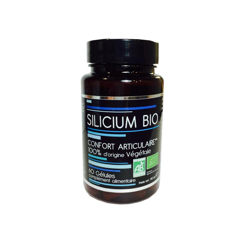 Silicium Bio - Bambou 60 Gélules NutriVie 60 gélules végétales