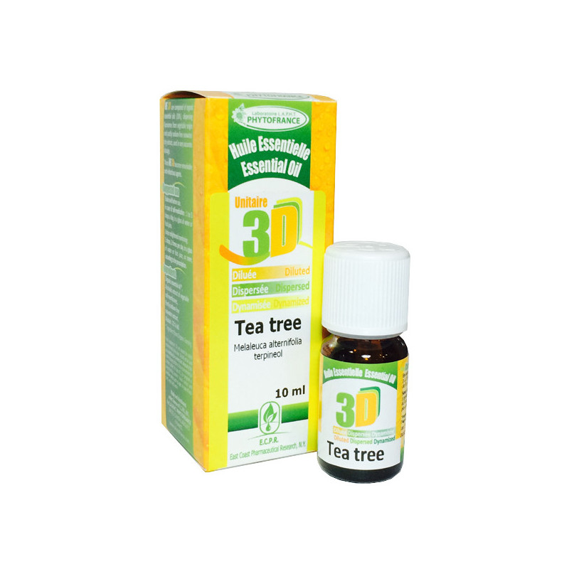 HE 3D - Tea Tree 10 ml - Phytofrance Flacon 10 ml