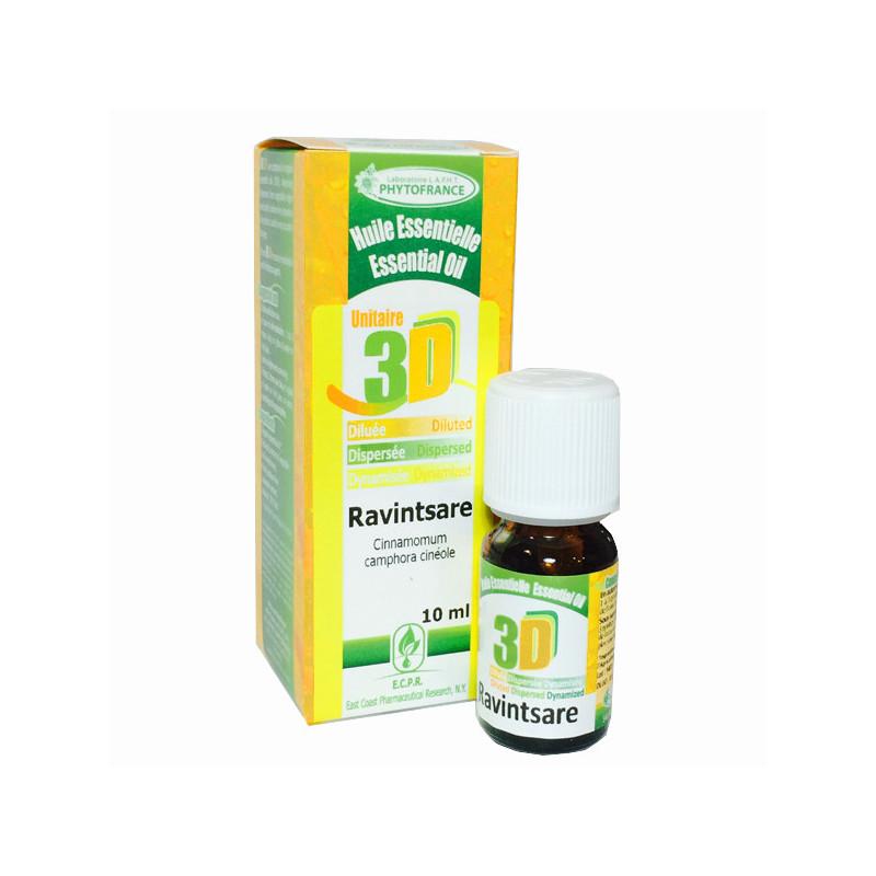 HE 3D - Ravintsare 10 ml - Phytofrance Flacon 10 ml