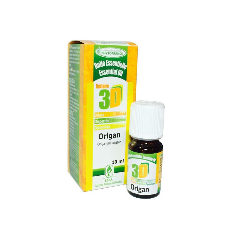 HE 3D - Origan 10 ml - Phytofrance Flacon 10 ml