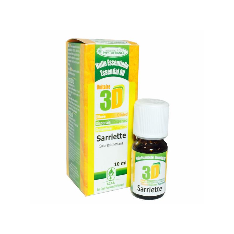HE 3D - Sarriette 10 ml - Phytofrance Flacon 10 ml