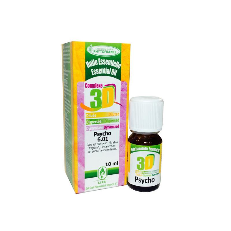 HE 3D - Psycho 10 ml - Phytofrance Flacon 10 ml