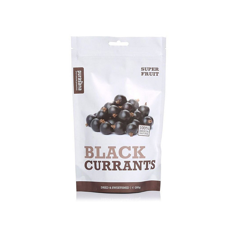 Black Currants - Cassis 200 gr Purasana 200 gr