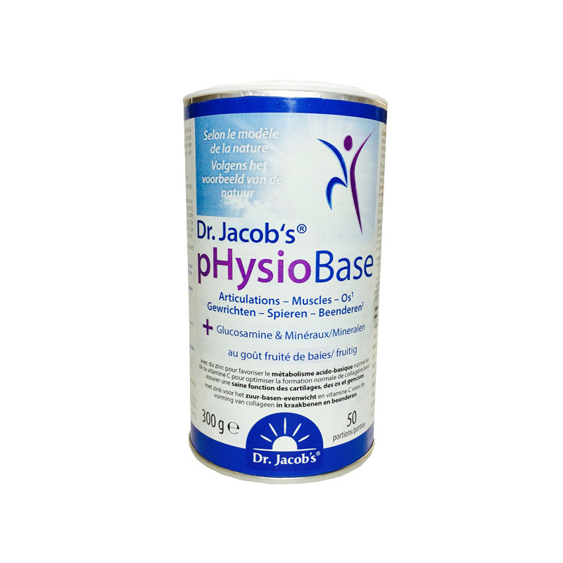 pHysioBase 300 gr Dr Jacob's Poudre 300 gr - 50 doses
