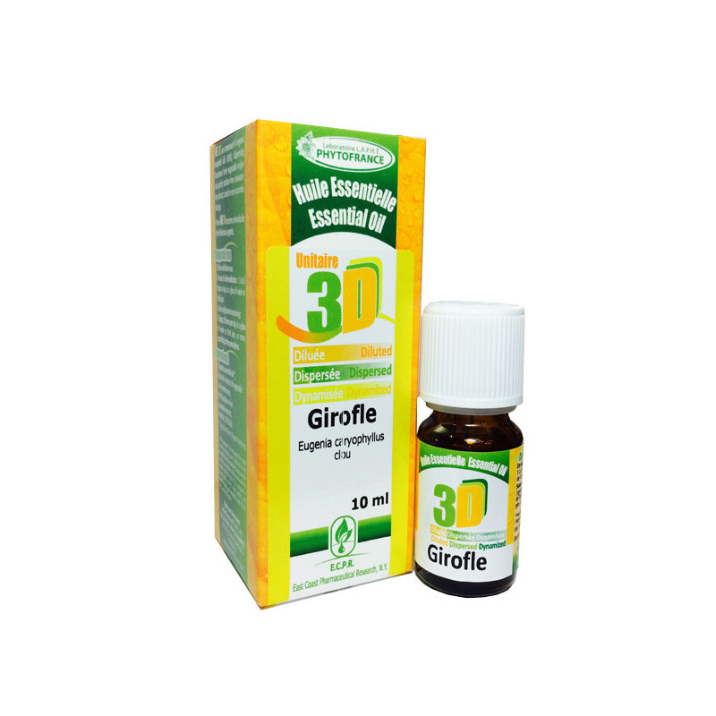HE 3D - Girofle 10 ml - Phytofrance Flacon 10 ml