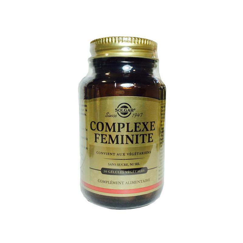 Complexe féminité 30 Gél. Solgar 30 Softgels