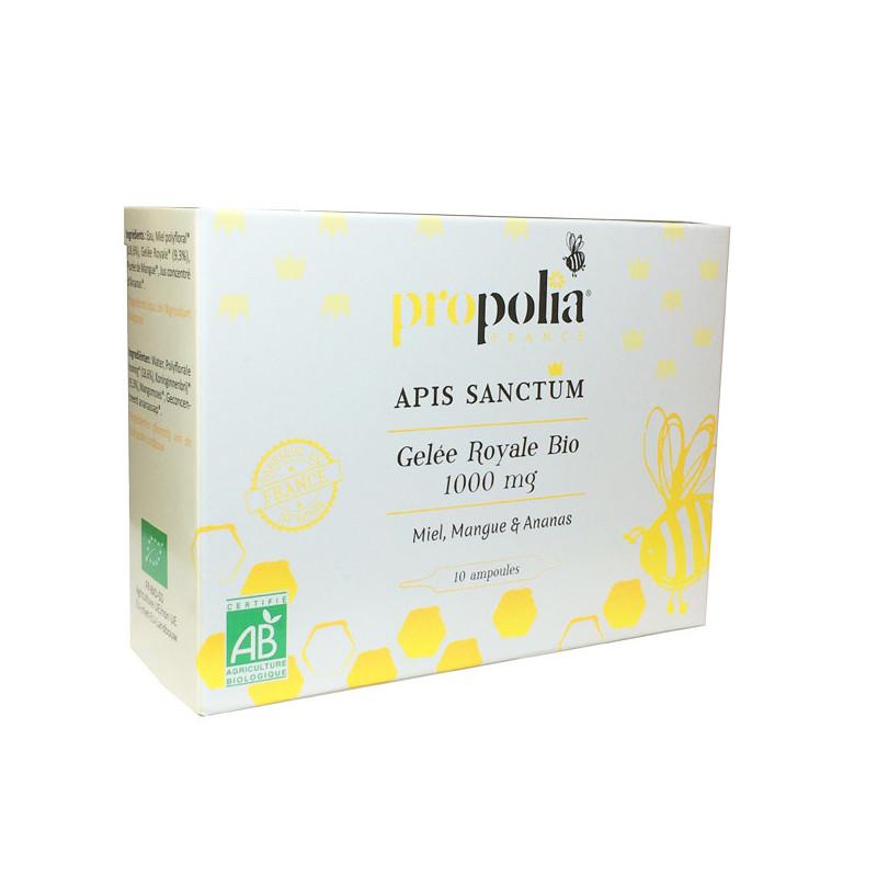 Apis Sanctum Gelée Royale Bio 1000 mg Propolia 10 ampoules
