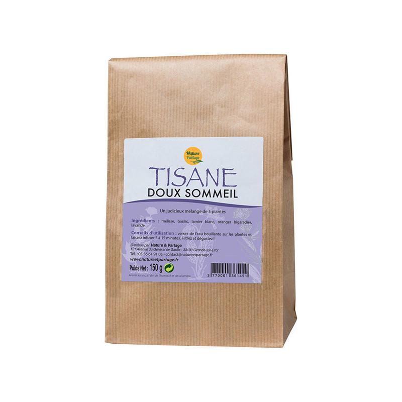 Tisane Doux Sommeil 150 gr Nature et Partage Sachet 150 gr