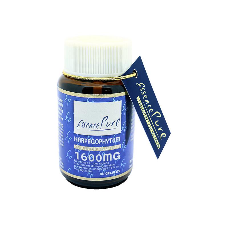 Harpagophytum 1600mg 30 gélules Essence Pure 30 gélules