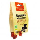 Gommes Vitaminées Bio Acérola Ours Nat & Form 150 gr environ 50 oursons