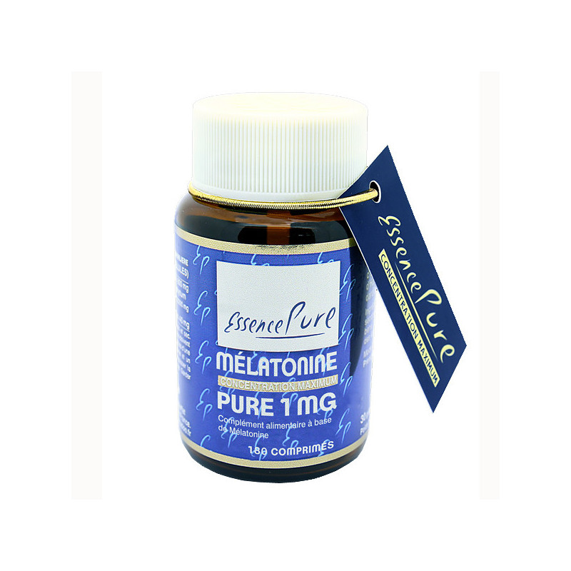 Mélatonine 1 mg Essence Pure 180 comprimés 180 comprimés