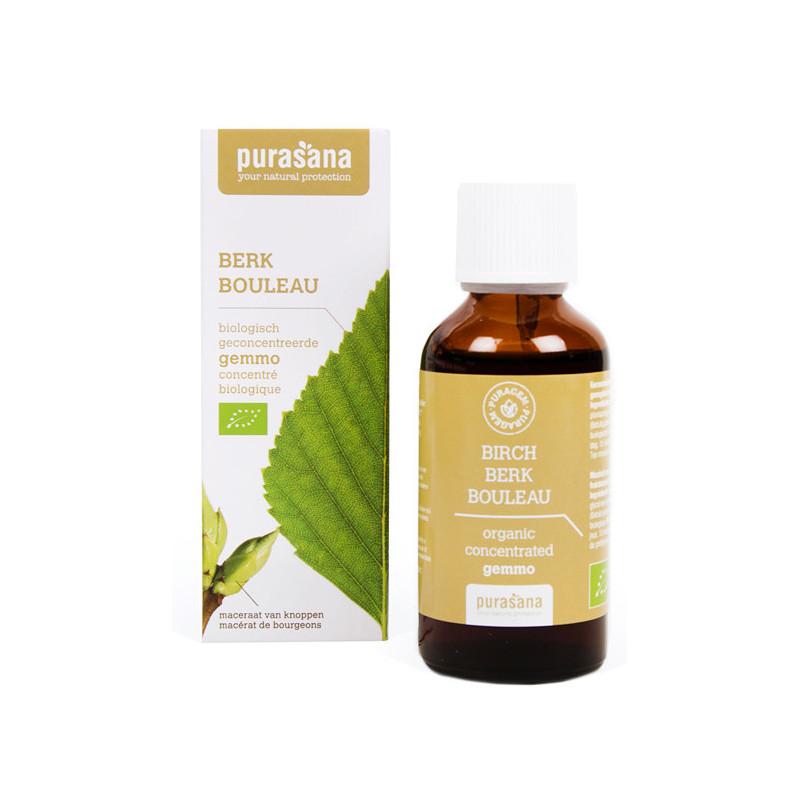 Bouleau Bio 50 ml Purasana Flacon-gouttes 50ml